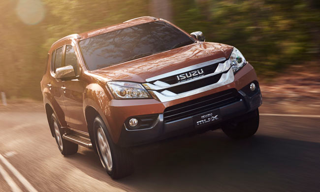 Lease an Isuzu MU-X