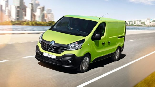 Lease a Renault Trafic