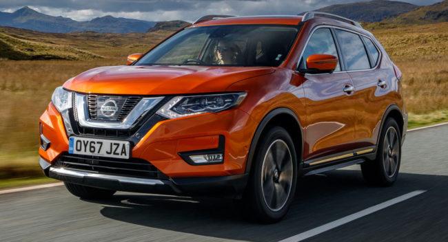 Lease a Nissan X-Trail