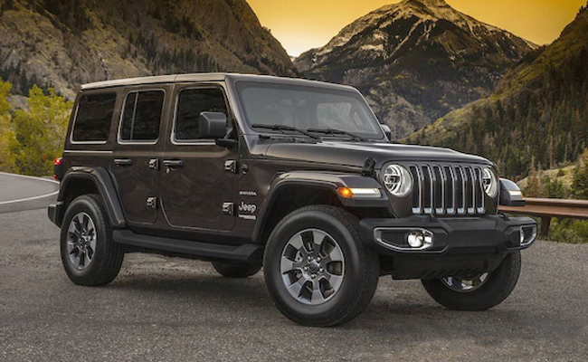Jeep Wrangler Driveline Fleet Car Leasing