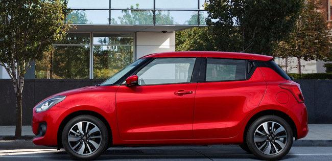 Suzuki Swift lease