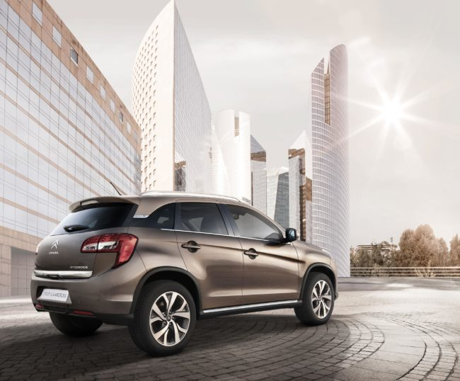 Lease a Citroen C4 Aircross