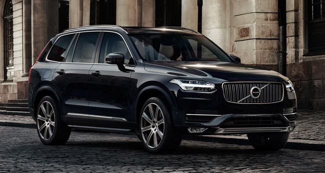 Volvo Xc90 Driveline Fleet Car Leasing