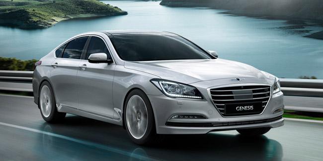Hyundai Genesis Vehicle Lease Large Car Driveline Fleet