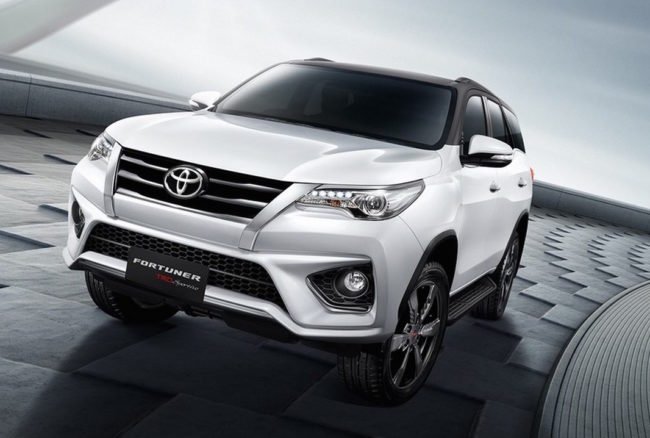 Toyota Fortuner Driveline Fleet Car Leasing New Zealand
