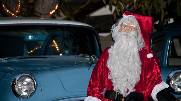 Santa would enjoy driving these cars