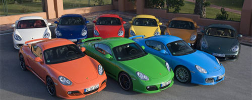 Popular Car Colours