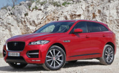 Jaguar f-pace photos