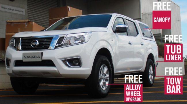 Nissan Navara Trade Pack