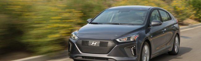 2017 Hyundai IONIQ Lease