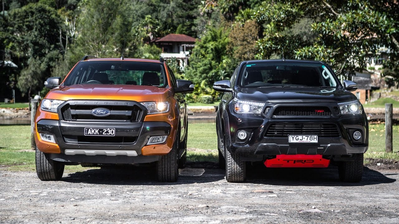 The Toyota Hilux Outsells The Ford Ranger In August 2017