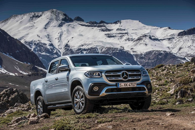 Mercedes benz x class review driveline fleet car leasing for Lease a used mercedes benz car