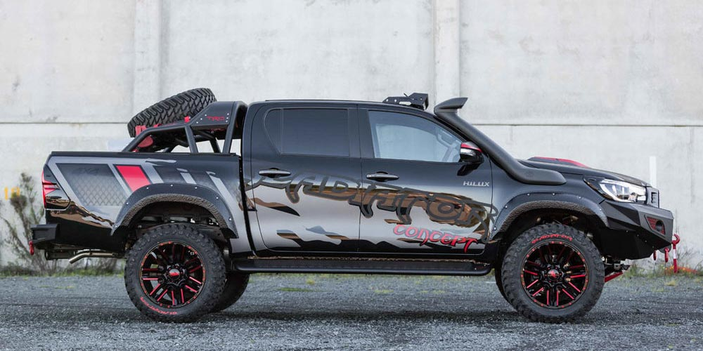 Toyota car financing - Hilux Gladiator Concept