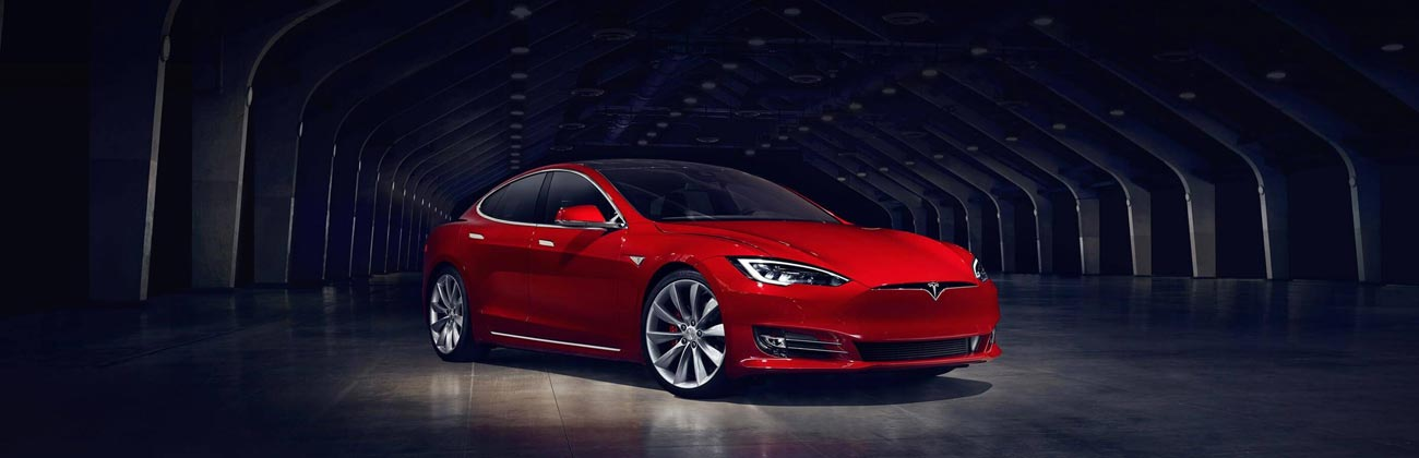 Tesla Model S, available for purchase under a Driveline electric car finance package