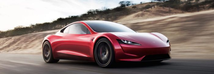 Electric car finance could buy you this Tesla Roadster