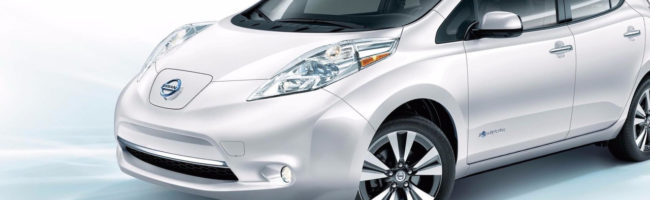 Nissan Leaf electric vehicle for lease
