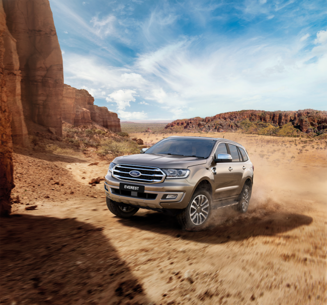 ford everest lease