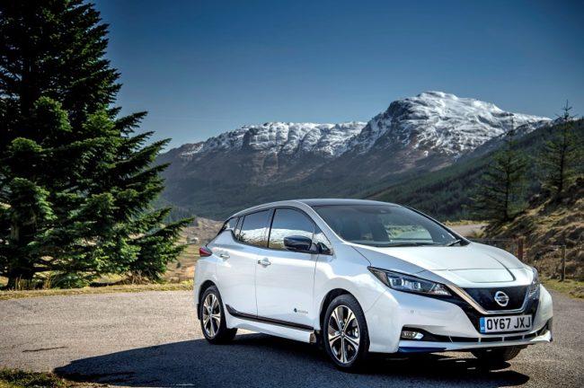 Nissan Leaf Vehicle Lease Ev Driveline Fleet
