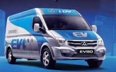 LDV V80 Electric Van for lease