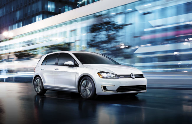 lease a volkswagen eGolf