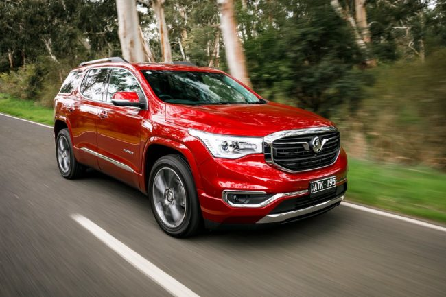 Lease a Holden Acadia