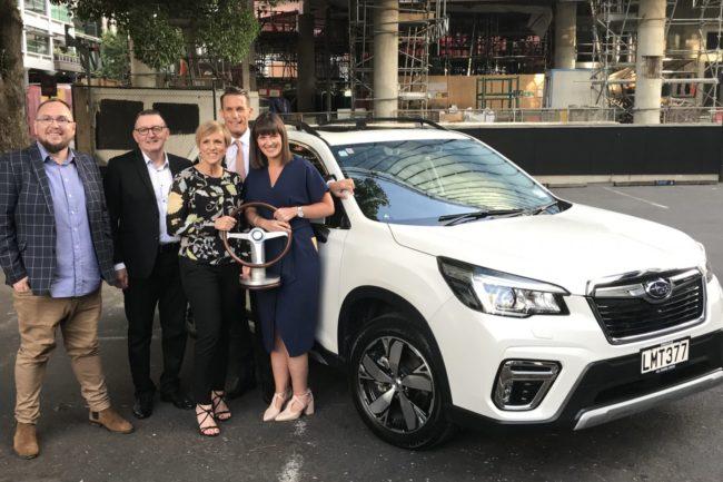 Subaru Forester Wins Car Of The Year Award Driveline Fleet Car