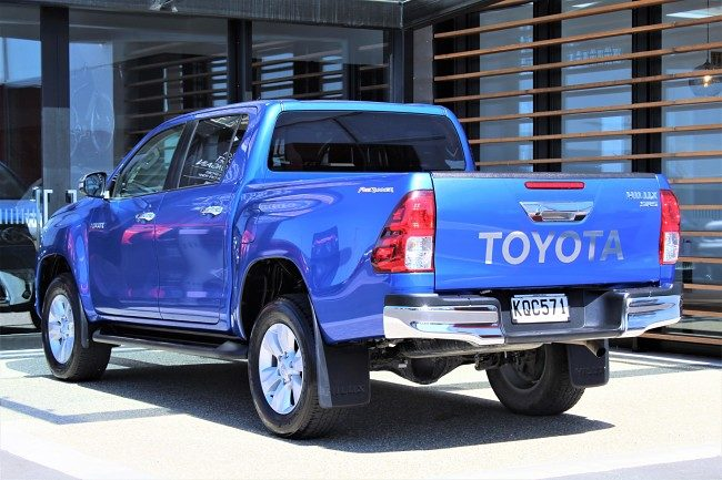 2017 Toyota Hilux lease